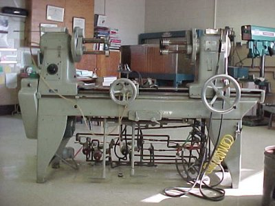 How Much Is A Wheel Alignment >> The Scientific Glassblowing Learning Center: Glassblower's Lathe