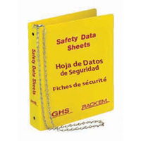 Bilingual SDS binder