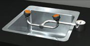 sink mounted eye wash