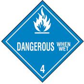 The MSDS HyperGlossary: Water Reactive